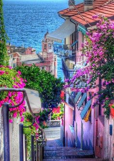 Tellaro Village in Liguria, Northern Italy