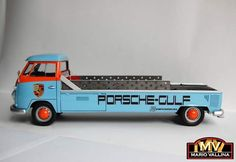 Single cab stretched carrier im lovin it Vw Cars, Porsche Cars, Race Cars, Vw Vintage, Vintage Race Car, Volkswagen Bus, Vw T1, Kombi Food Truck, Vw Pickup