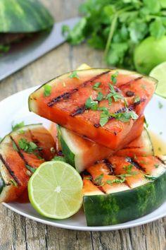 Cilantro Lime Watermelon. Delish!