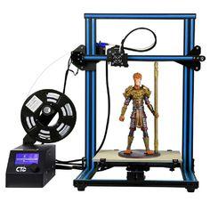 Pre-assembled Creality High Precision CR-10/S5 3D Printer Aluminum  Large Print