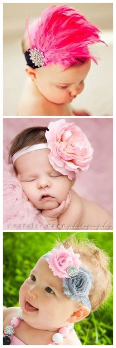 Precious. If. I ever have a girl I want to do pictures in all different headbands