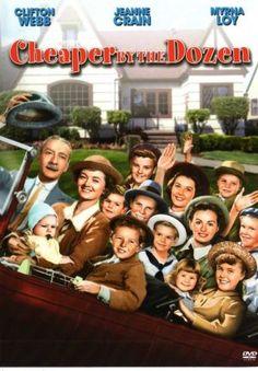 Cheaper by the Dozen (old movie)