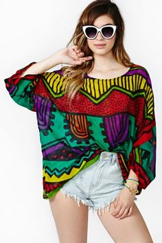 Color Riot Top