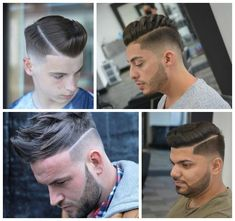 Men's Sharp Line Up Hairstyles for 2017