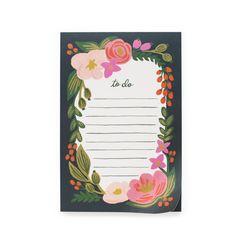 Rosalie Tear-off Notepad by Rafle Paper Co