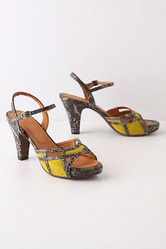 Autlan Heels: Another pair of hot mama shoes that I want in my life. #anthropologie