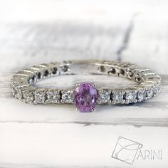 Pink sapphire ring pure and refined, a precious and modern gift for yourself or for an important occasion. Perfect for every day wear.. Diamonds ct 0.49 VS G Pink Sapphire ct 0.23 Follow us on our newsletter for other gift ideas and coupons: carinigioielli.com/newsletter.php  #carinigioielli #diamond #gold #sapphire #rose #pink #ideas #christmaspresent #october #fall #autumn #engaged #weddings #bride #bridetobe #unconventional #brideandgroom #picoftheday #instafashion #fabulous