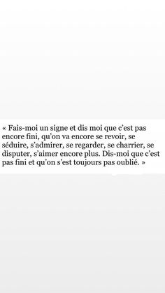 Tu me manques. Impossible Love Quotes, Sad Love Quotes, True Quotes, Book Quotes, Words Quotes, Tu Me Manques, French Quotes, Bad Mood, Pretty Words