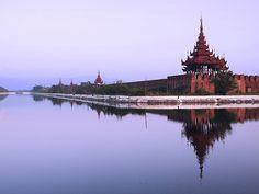 Mandalay Fort by Julian Kaesler, via Flickr
