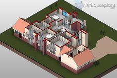 Beautiful 4 Bedroom House Plan [415m2] House Design | NethouseplansNethouseplans