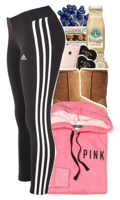 """I Can't Wait Til UGG Season - No. 583"" by dessboo ❤ liked on Polyvore featuring Michael Kors, Chanel, UGG Australia, Victoria's Secret and adidas"