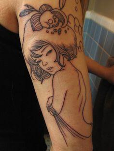 Audrey Kawasaki tattoo inspiration, I want this one
