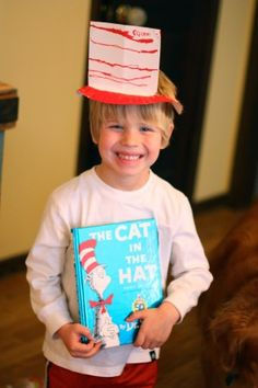 Here's our favorite Dr. Seuss activities & crafts for kids! Read a beloved Dr Seuss book and let the fun continue long after the pages are closed. Dr Seuss Activities, Holiday Activities, Activities For Kids, Toddler Crafts, Crafts For Kids, Paper Plate Hats, Hat Crafts, Cat Hat, Kindergarten Teachers
