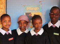 """""""When girls are educated they can achieve a lot for themselves and also help their community."""""""