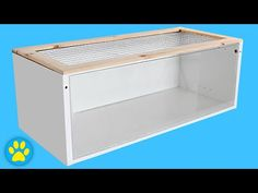 DIY Hamster Cage | Ikea Billy Cage - YouTube