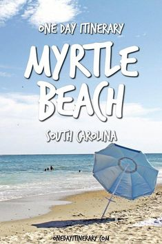 Myrtle Beach One Day Itinerary - Top things to do in Myrtle Beach, South Carolina #OvernightAcneBeautyTips Beach Vacation Tips, Best Island Vacation, Beach Trip, Vacation Trips, Beach Vacations, Vacation Ideas, Beach Travel, Vacation Style, Vacation Places