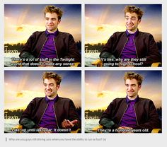 robert pattinson hates twilight | Featured Tumblr: Robert Pattinson Hates His Life and Also Twilight and ...