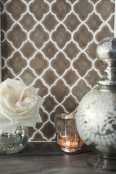 Handmade Moroccan tiles.  #Moroccan #Tiles #Decor #InteriorDesign.