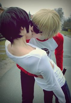 Dave x John Homestuck cosplay, the best ship ever!