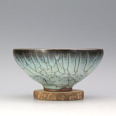 Very fine Song dynasty style flower porcelain bowl W(5) inches