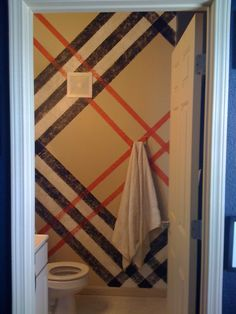 """A little """"Burberry"""" for your bathroom"""