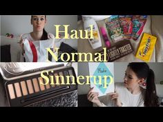 Haul!! Normal, Sinnerup + Bloopers in the end ;)