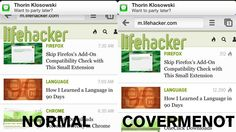 CoverMeNot Keeps iPhone Notifications from Blocking Your Screen
