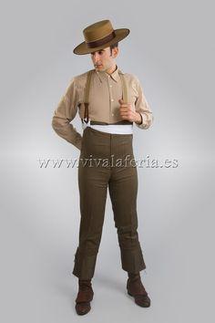 Camisa y Calzona tonos marrones www.vivalaferia.es
