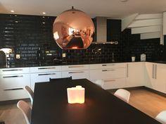 #blacktiles #kitchen #tomdixon #haytable
