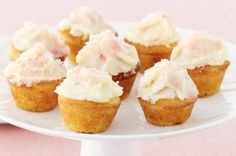 Pink Coconut cupcakes.