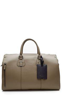 7ddbda65d1 Ted Baker London  Colbad  Leather Duffel Bag
