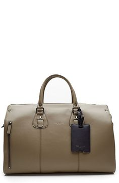 Ted Baker London 'Colbad' Leather Duffel Bag