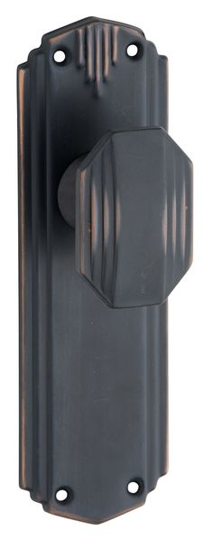 Art Deco Door Knobs | Straight Art Deco Door Knob Range