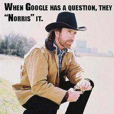 Just Norris it.