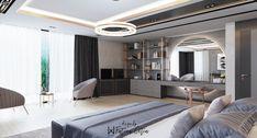 Master Bedroom on Behance Wardrobe Design Bedroom, Luxury Bedroom Design, Master Bedroom Interior, Modern Master Bedroom, Bedroom Furniture Design, Room Ideas Bedroom, Home Room Design, Master Bedroom Design, Home Decor Bedroom