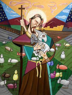 El señor es mi pastor hermoso Christian huella por Anthony Falbo