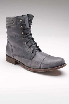 Washed Leather Boots / GBX