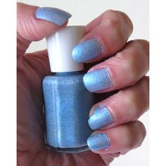MOTHERS DAY SALE Ice Blue Glitter Nail Polish ($4.80) ❤ liked on Polyvore featuring beauty products, nail care, nail polish, nails, makeup, 37. nail polish., 38. nail polish., gel nail color, shiny nail polish and gel nail polish