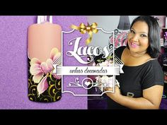Unhas Decoradas Passo a Passo com Flores para Natal (nail art tutorial) | Cola na Villar - YouTube