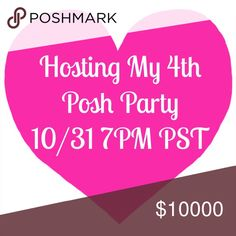 HALLOWEEN POSH PARTY Get excited! I'm hosting a posh party on Halloween night! Let's party 🎉! Dresses