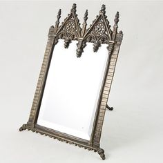 Gothic Vanity Mirror from French Metro Antiques $ 250.00