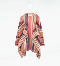 Striped knit cardigan-SWEATERS AND CARDIGANS-GIRL | 4-14 years-KIDS | ZARA United States