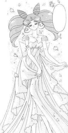 Princess Usagi Small Lady Serenity From the Manga