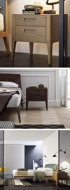 Der schlanke Nachttisch Giotto ist die perfekte Ergänzung zur Hochkommode und verleiht dem Schlafzimmer ein harmonisches Gesamtbild. #Nachttisch #nightstand #Schlafzimmer #bedroom #Designmöbel #Wohntrend #Wohnstil #home #einrichten #wohnen #Inneneinrichtung #interiordesign #modern #zeitlos #minimalistisch #minimalism #Livarea #Novamobili