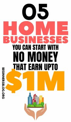 In this post, I'm going to share with you the 5 best million-dollar Home business ideas that you can start right away. Online Jobs For Moms, Online Business From Home, Best Online Business Ideas, Home Based Business, Earn Money From Home, Earn Money Online, How To Make Money, Own Business Ideas, Business Entrepreneur