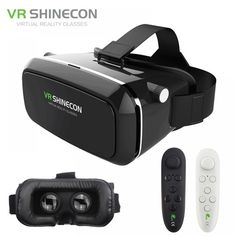 Online shopping for Virtual Reality with free worldwide shipping Virtual Reality Education, Virtual Reality Glasses, Smartphone, Cardboard Vr Headset, Google Vr Cardboard, Vr Shinecon, Front Cover Designs, Vr Box, Headpieces