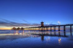 blue #sunset #california