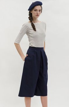 Le Marche Biron Culottes | Vintage Inspired Culottes