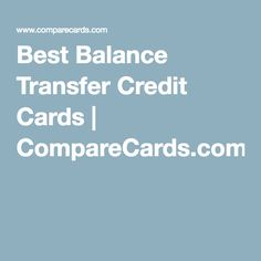 credit card transfer payment calculator