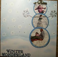 love this winter page